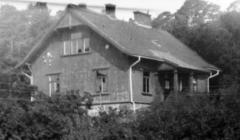 Kamrersvillan Särö. Bild 1921.