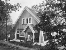 Strandstugan Särö. Bild 1230.