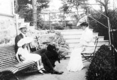 Prins Carl och Ingeborg Särö. Bild10945.