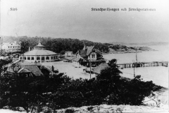Strandpaviljongen Särö. Bild 11565.