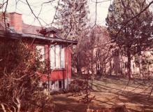 Röda stugan Särö. Bild 10571.