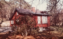 Röda stugan Särö. Bild 10572.
