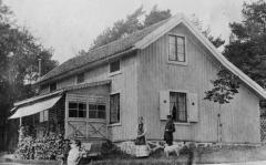 Röda stugan Särö. Bild 10578.