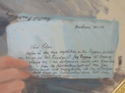 Brevtext, porträtt av H.G. Turitz.