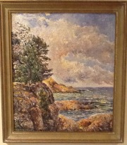 Målning av Rolf Jonsson