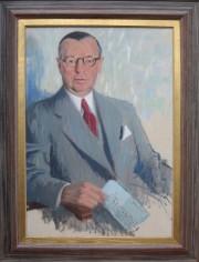 Porträtt av H G Turitz.
