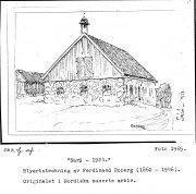 Särö 1924, stallet