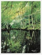 Målning av Ulf Schéle.