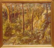 Målning av Rolf Jonsson, Särö.