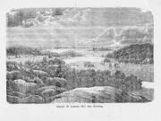 Inloppet till Badorten Särö - nära Göteborg 1859
