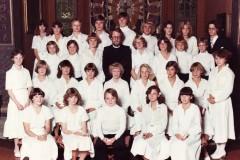 Konfirmation 1978 för Christer Spjut i Särö Kyrka.