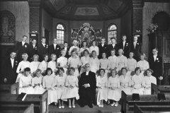 Konfirmation 21 juli 1956 för Oscar Cullberg i Särö kyrka
