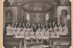 Konfirmation 25 juli 1959 i Särö kyrka för Rolf Glemme