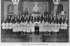 Konfirmation 19 juli 1958 i Särö kyrka för Rolf Glemme
