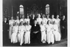 Konfirmation 1938 för Isac Béen i Särö Kyrka