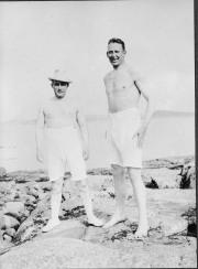 Matti Rubinstein och Gösta Nystroem Särö