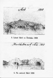 Säteriet och Munkekullen 1858