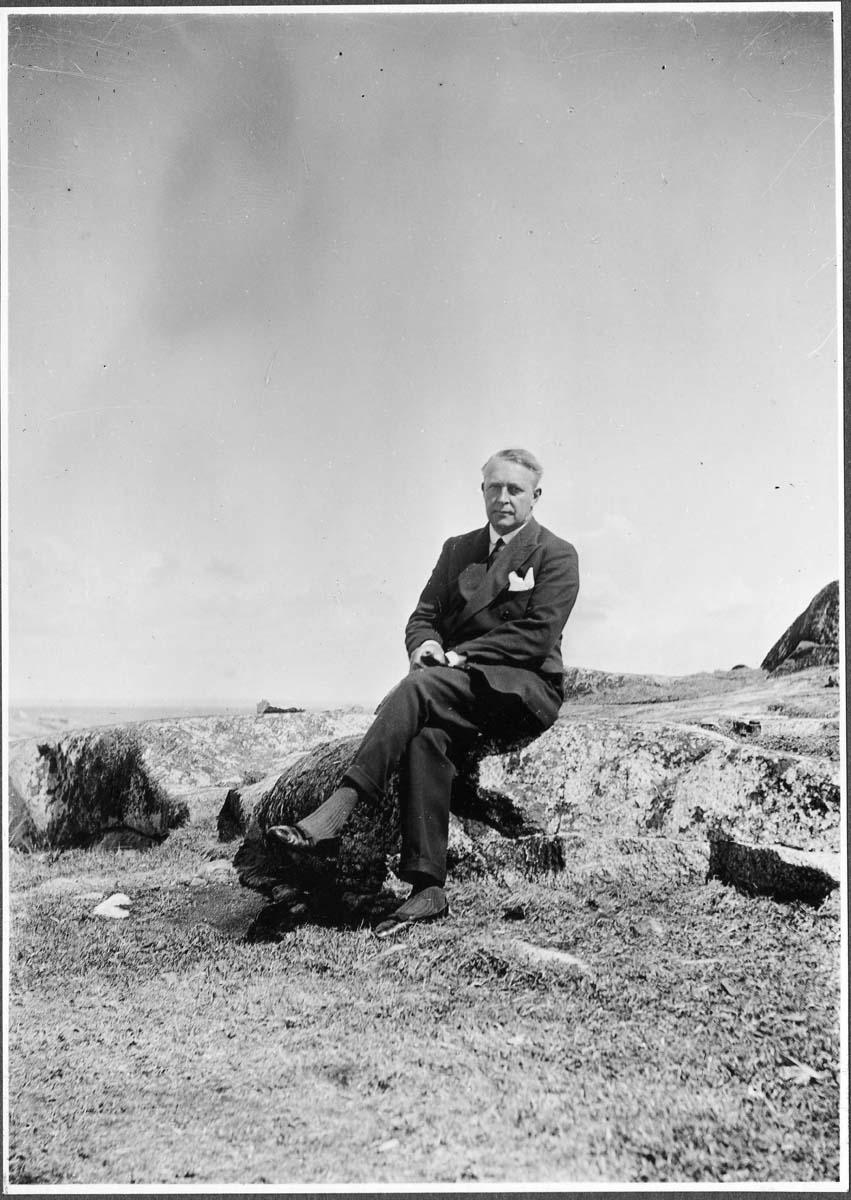 Gösta Nystroem hos Westerbergs på Tistlarna 1933