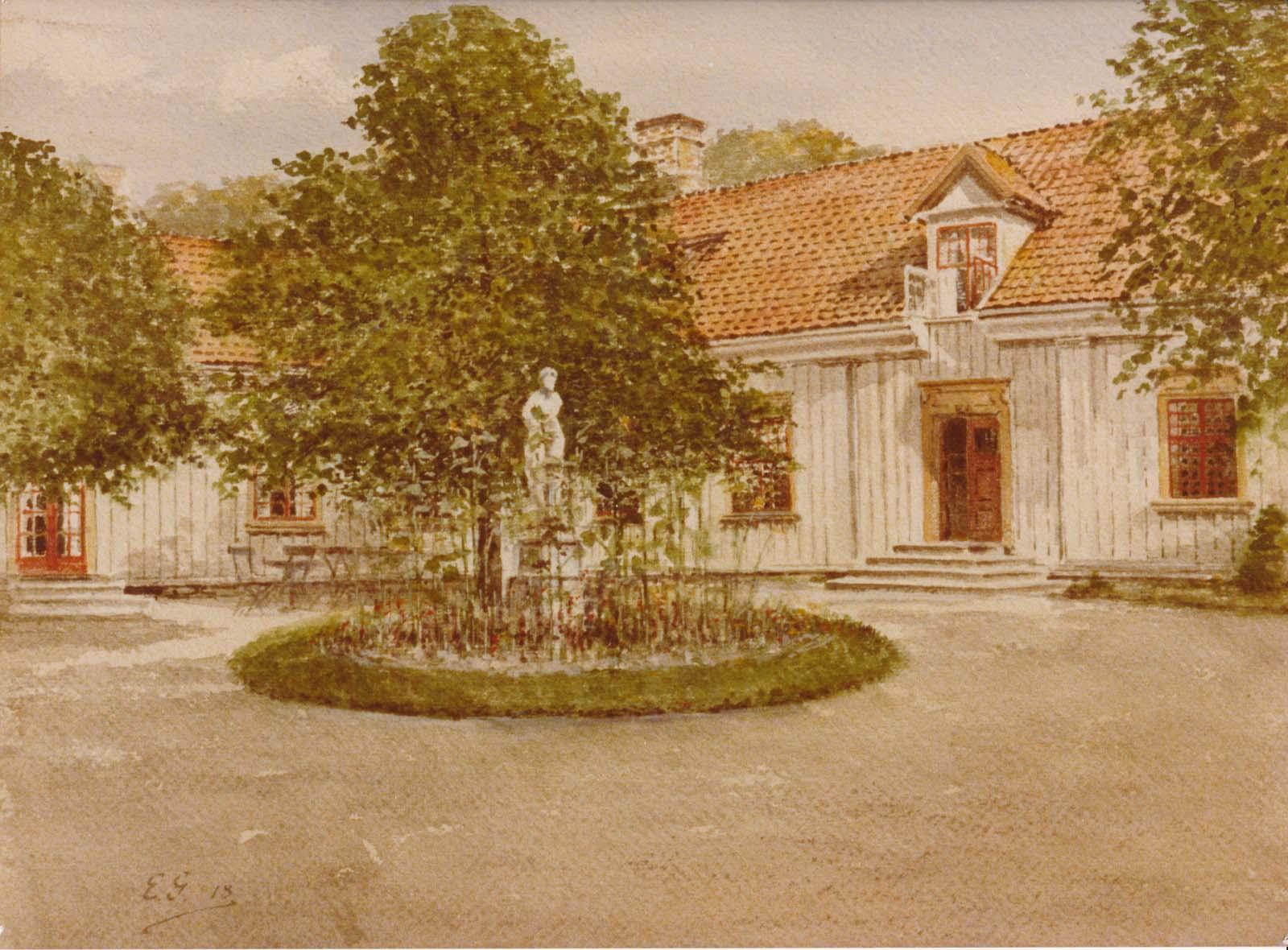 Säteriet Särö. Bild 11742.