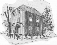 Stolpboden Särö. Bild 11655.
