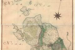 Säteriet Särö karta från 1773. Bild 1537.