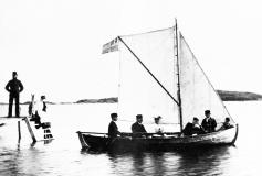 Segling Särö. Bild 10188.