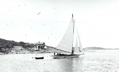 Segling Särö. Bild 1482.