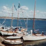 Segling Särö. Bild 1932.