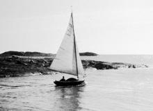 Segling Särö. Bild 2096.