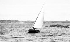 Segling Särö. Bild 2098.