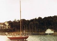 Segling Särö. Bild 2815.