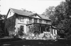 Skogshyddan Särö. Bild 11452.