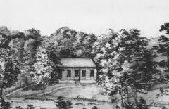 Skogshyddan Särö. Bild 11627.