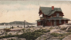 Särö station. Bild 10402.