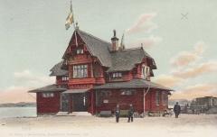 Särö station. Bild 10404.