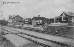 Släp station. Bild 10611.