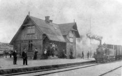 Släp station. Bild 10277.