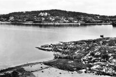 Strandparti Särö. Bild 10790.