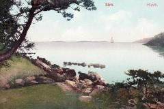 Strandparti Särö. Bild 10808.