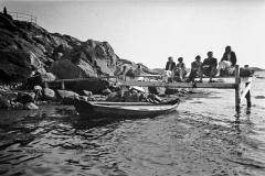 Strandparti Särö. Bild 2105.