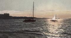 Strandparti Särö. Bild 10807.