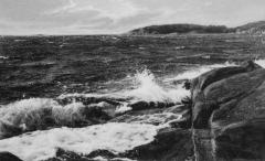 Strandparti Särö. Bild 10810.