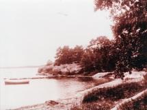 Strandparti Särö. Bild 10818.