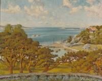 Strandparti Särö. Bild 11743.