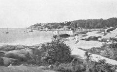Strandparti Särö. Bild 1237.