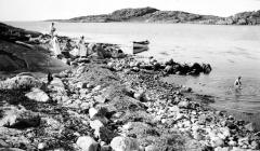 Strandparti Särö. Bild 2034.