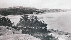 Strandpromenaden Särö. Bild 10630.