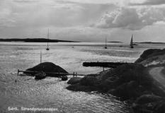 Strandpromenaden Särö. Bild 10638.