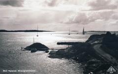 Strandpromenaden Särö. Bild 10752.
