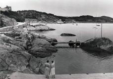 Strandpromenaden Särö. Bild 10753.